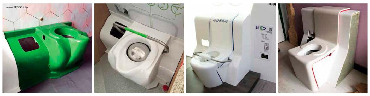 Protótipos sanitário secco